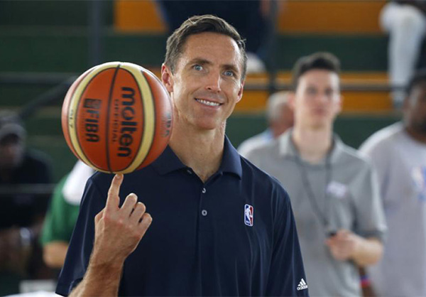 The two time NBA Most Valuable Player, Steve Nash